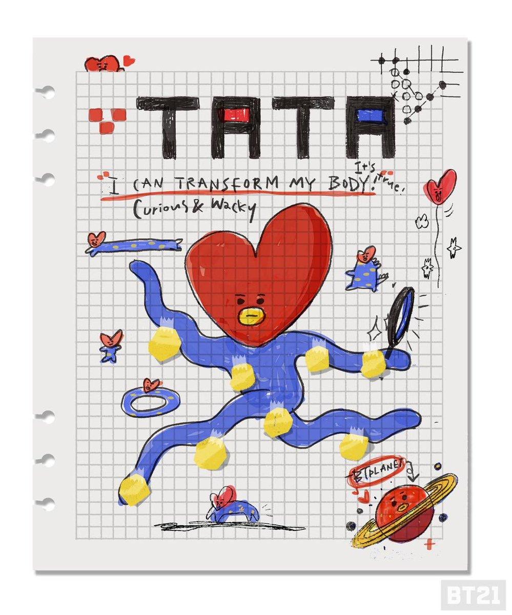 RT @BT21_: I can transform my body! #TATA #BTplanet #supernatural #transformation #BT21 #UNVERSTAR #CreatedbyBTS https://t.co/ePnkGhLL2A