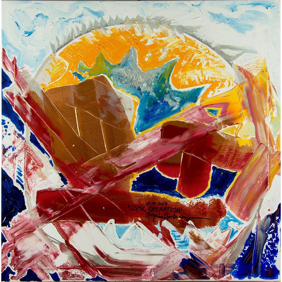 #art by Michel #Montecrossa painting &#39;Cosmic Operation&#39; @RSMuseum @mhall55nine @art_help @OrigineCertifie @pyramidofplutus @monarkgallery @peterschiedam @PakamamaniRenew @Chaos_Fractals @IRetweetArt @francescofrong2 @InkUtv @artgully #BigArtBoost @lebalzin #cosmic #abstract<br>http://pic.twitter.com/pPdlvlHxrs
