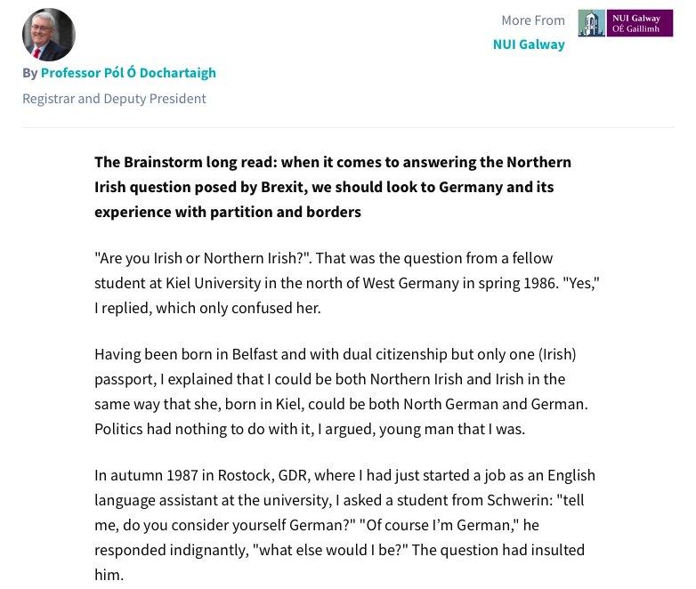Henrike Lähnemann On Twitter Some German Lessons Abt Brexit