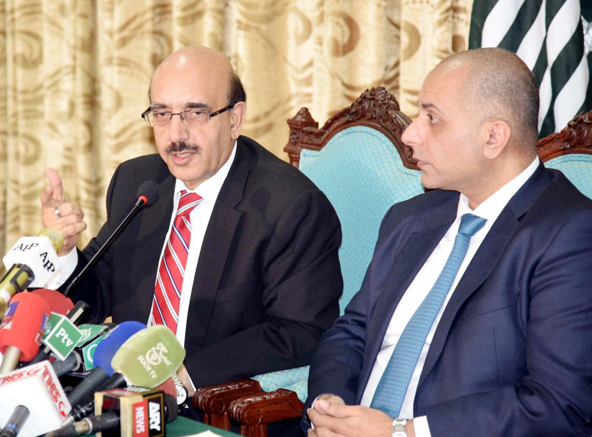 November 13; Islamabad: Addressed joint press conference with #MEP #Sajjad #Karim, #British #Politician<br>http://pic.twitter.com/RGf2HM5555