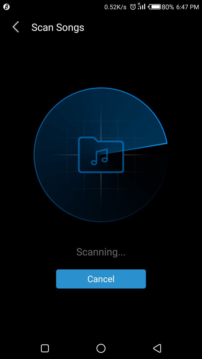 #BoomplaytipTings  Go to &#39;Songs&#39;, then select the icon to the top right to scan all songs on your device to update your library on #BoomplayMusic  <br>http://pic.twitter.com/T3cj1hcAge