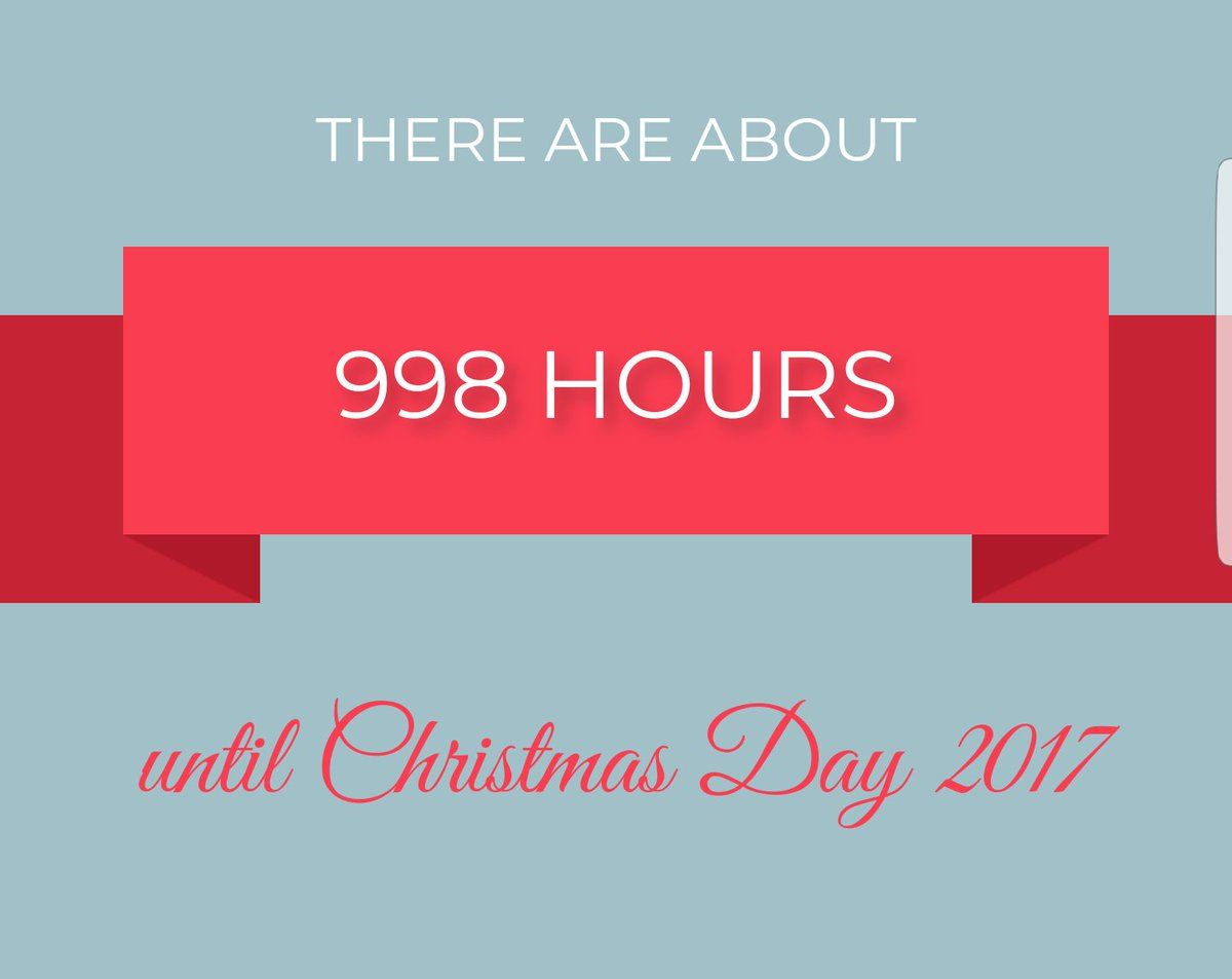 How Many Hours Until Christmas.Matt Rogers On Twitter Attention Less Than 1000 Hours