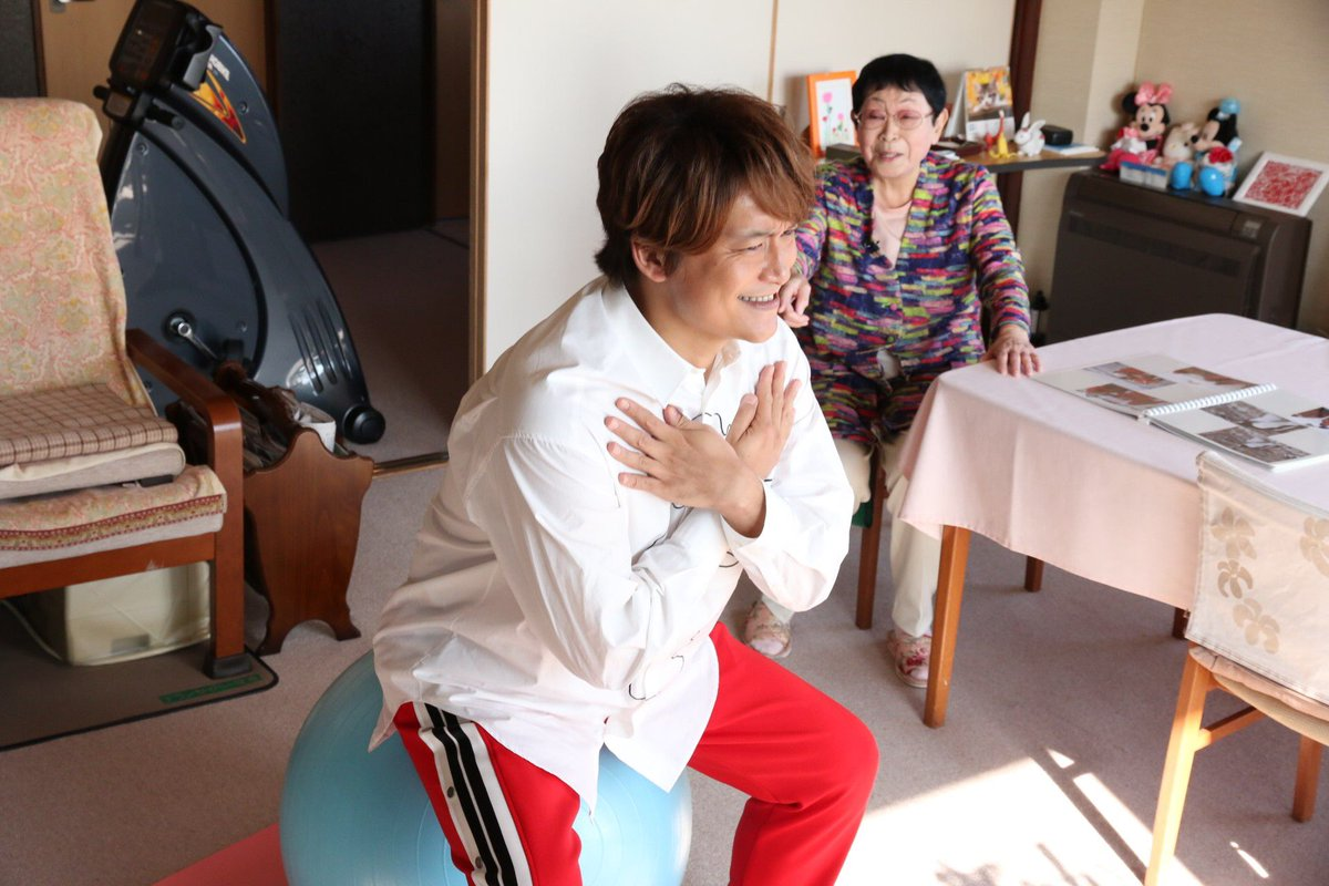 あさって夜7時から「おじゃMAP!!」放送です!!  ゲストは、92歳で現役の脚本家!橋田壽賀子先生…