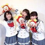 明日めざましテレビにAqoursから伊波杏樹さん、逢田梨香子さん、斉藤朱夏さんが登場。11/15発売…