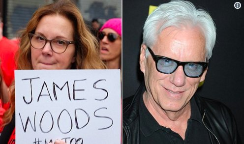 James Woods named by actress Elizabeth Perkins at #MeToo rally: https://t.co/z74zb7x2Iy