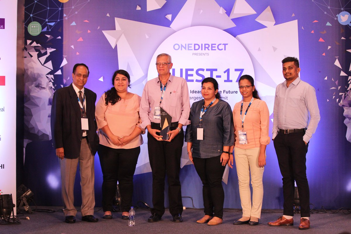 """Congratulations to @bookmyshow for winning """"Best Omni Channel Customer Experience Award"""" at #Quest2017 https://t.co/GrZKaxDulR"""