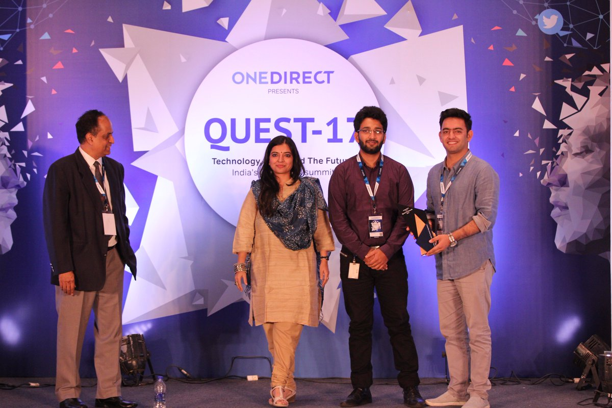 """Congratulations to @TataSky for winning """"Best use of Social Data for Customer Experience Improvement Award"""" at #Quest2017 https://t.co/9rqoChN8c8"""