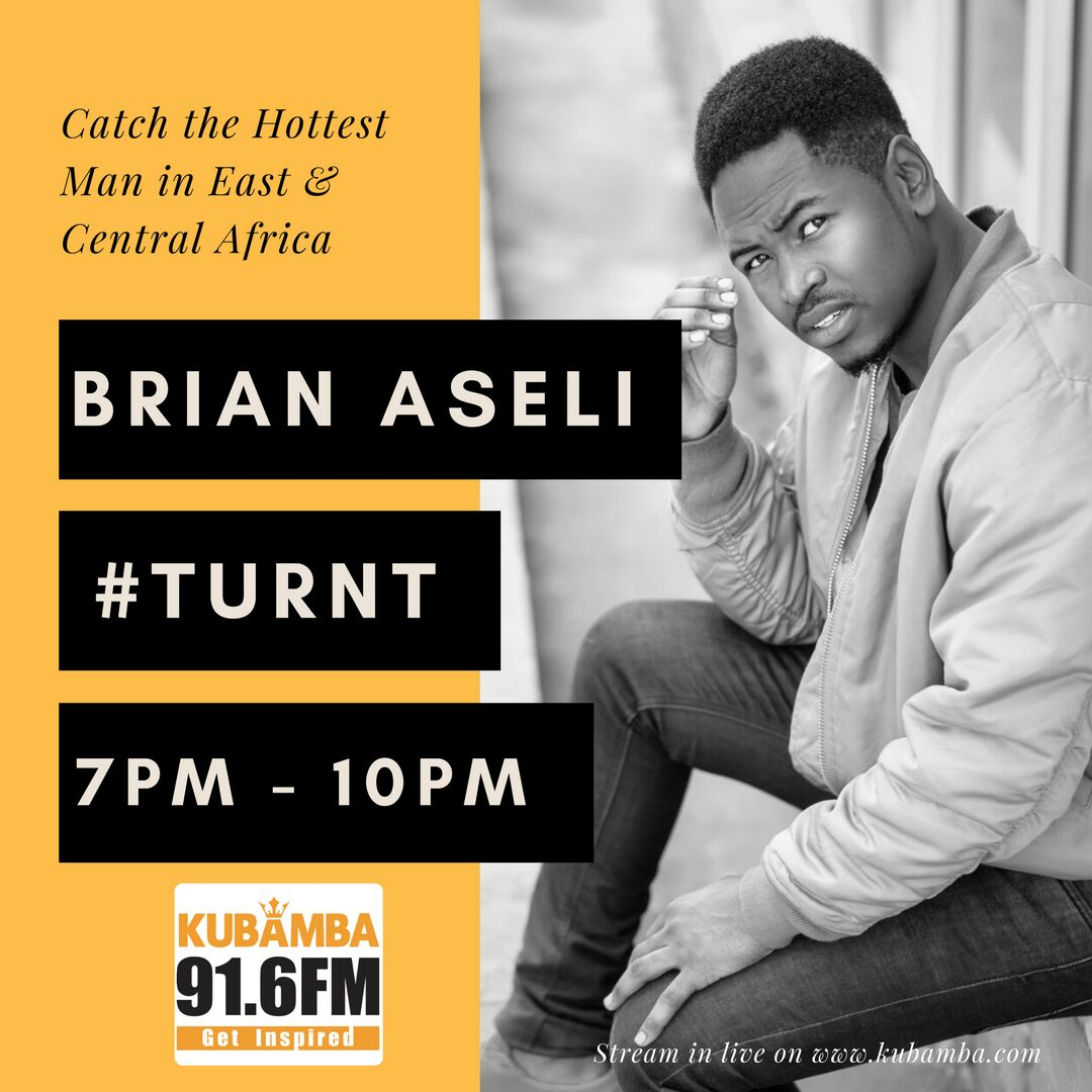 Can&#39;t wait for The TURNT.. Brand new show hosted by @brian_aseli @kubambaradio 91.6 FM Monday 7pm to10pm  #Turnt  #publicity #eminentmediainc  Cc: @brian_aseli  @kubambaradio @Ndemoteddy<br>http://pic.twitter.com/nuvHqfNwWL