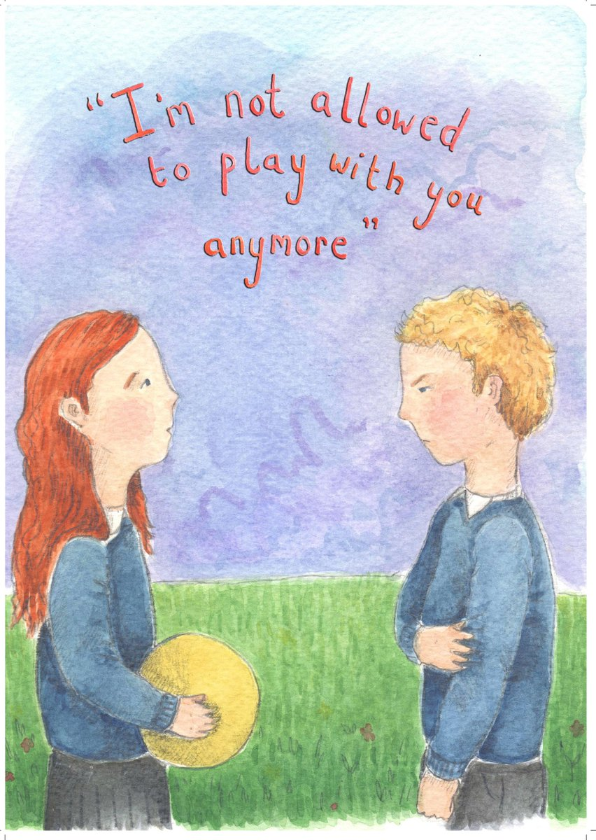 To raise awareness of the bullying Gypsy and Traveller children suffer we have published a childrens book, Im not allowed to play with you anymore. This is based on the experience of an Irish Traveller we work with. #AntiBullyingWeek travellermovement.org.uk/wp-content/upl…