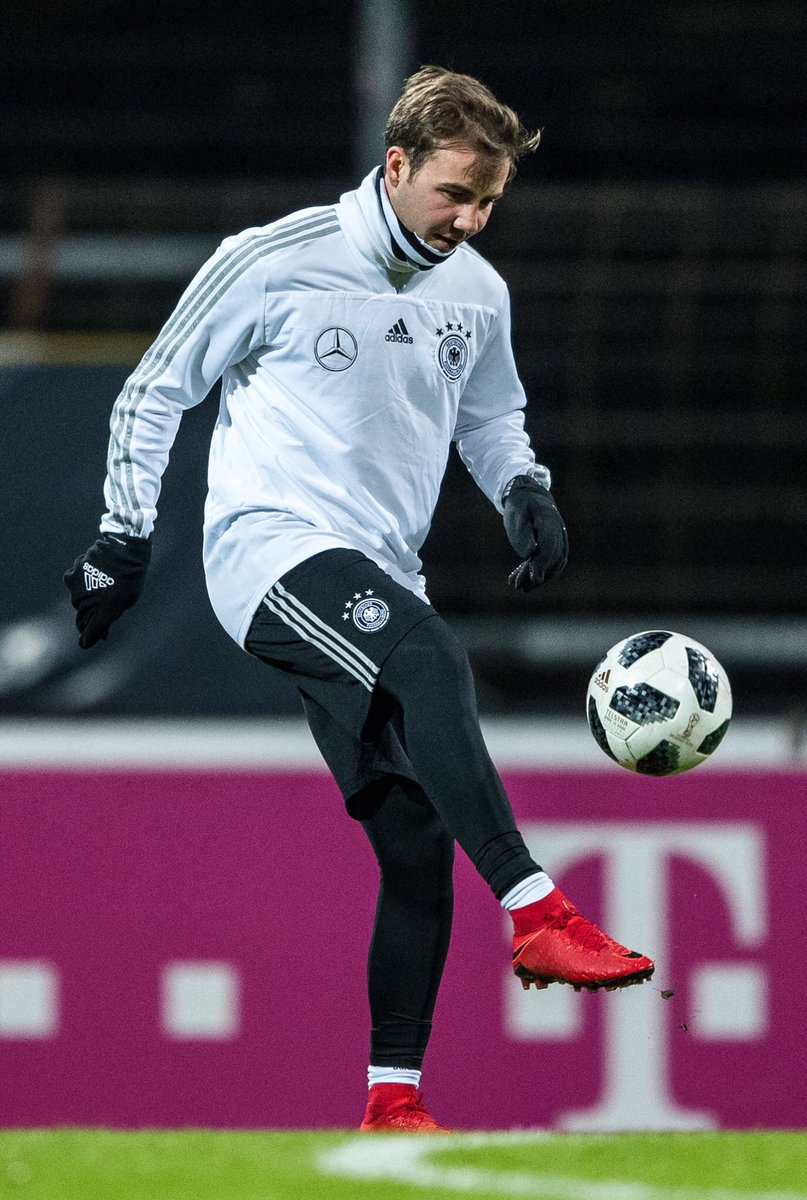 Back in Germany to prepare for the game...