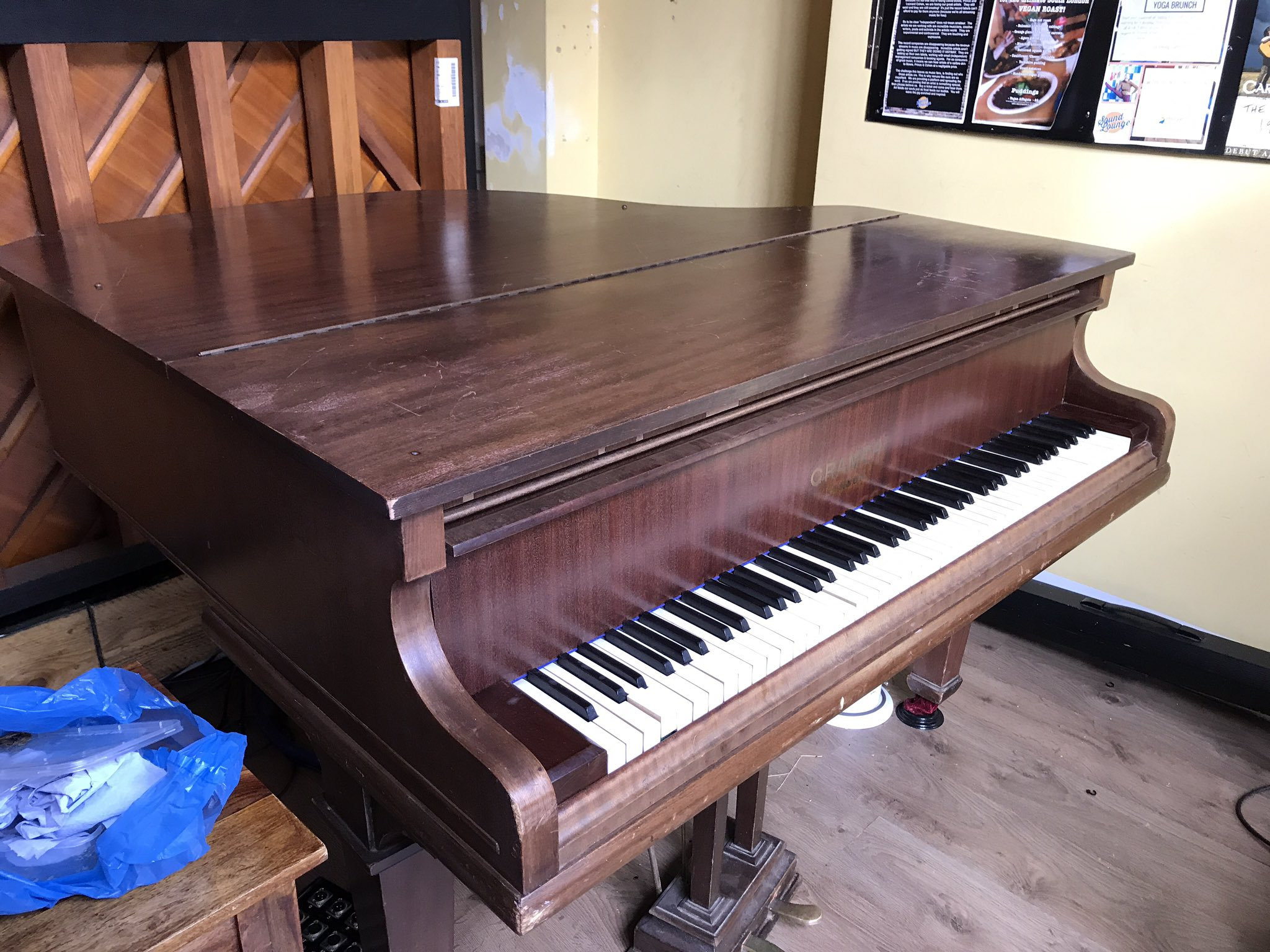 How To Get Rid Of A Piano In compensation Free