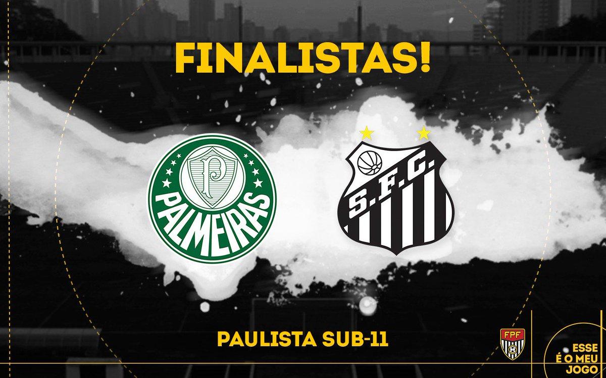 FINALISTAS! Confira os times que farão as finais do Paulista Sub-11, Sub-13, Sub-15 e Sub-17! #FPF #CategoriasDeBase #EsseÉoMeuJogo