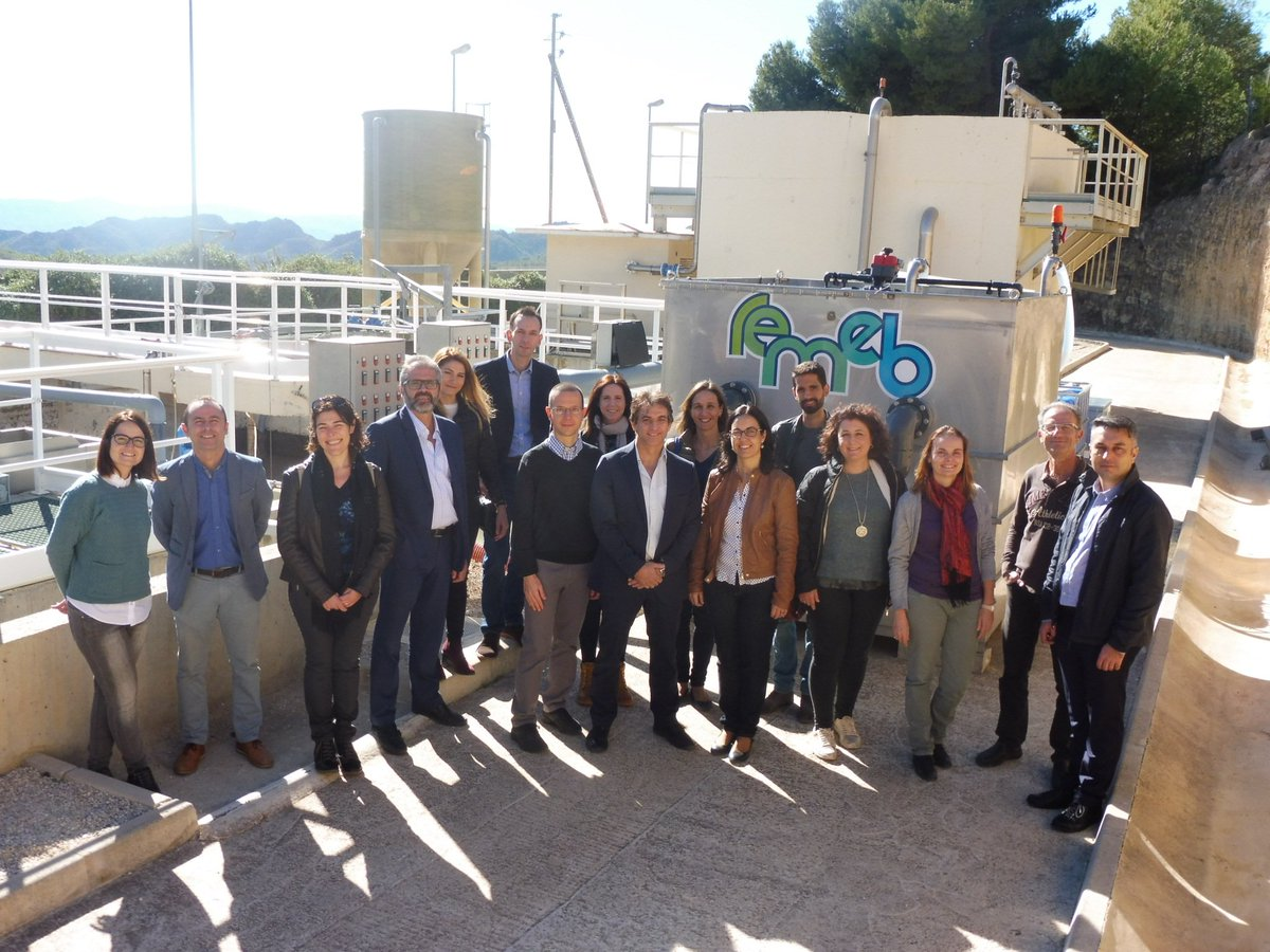 The @REMEB_H2020 project consortium is completing its field tests to validate its new advanced wastewater treatment system - an #ecofriendly #ceramic membrane bioreactor (#MBR):  http:// bit.ly/2AFCuQr  &nbsp;  <br>http://pic.twitter.com/RaNN2iSp9A