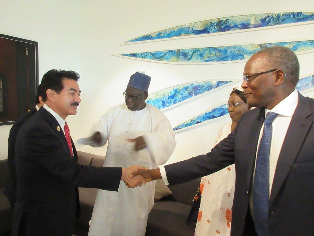 【第4回ダカール安全保障フォーラム@セネガル】 朝の8時にダカールに到着後、会場に直行。カバ外務大臣…