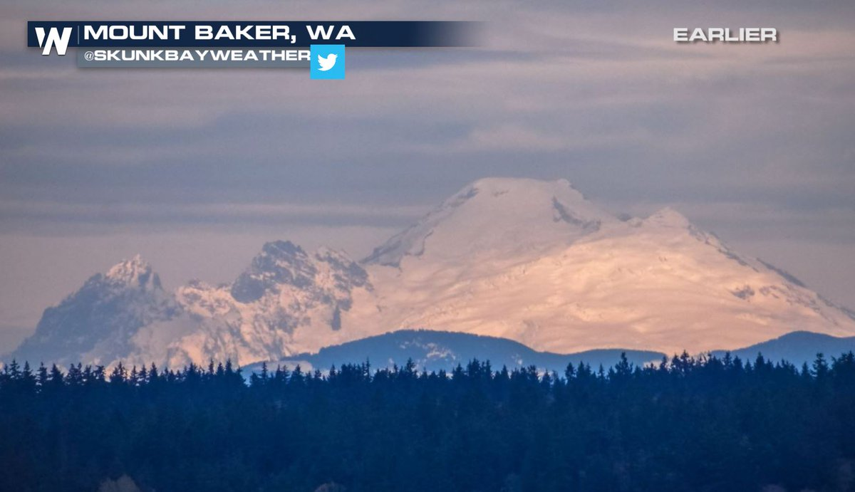 Look at that beauty from earlier this morning! With another round of possible feet of snow this week, #MountBaker Ski Area is considering an &quot;opening day&quot; possible this week! #WAwx<br>http://pic.twitter.com/Tj8p5a3eL7