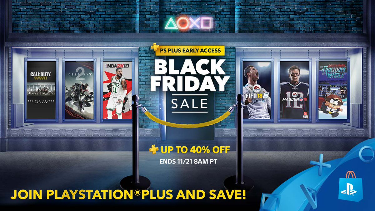 Black Friday 2017: Week Long PlayStation Deals Revealed