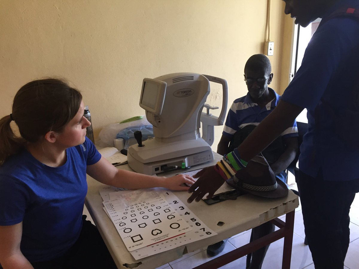 This week, we have 2 optometrists and an op. assistant on the medical team. We are offering free eye exams in the LiveBeyond clinic! #livebeyond #optometry #medicalmissions #eyeexams #haiti<br>http://pic.twitter.com/nbXamoAHUG