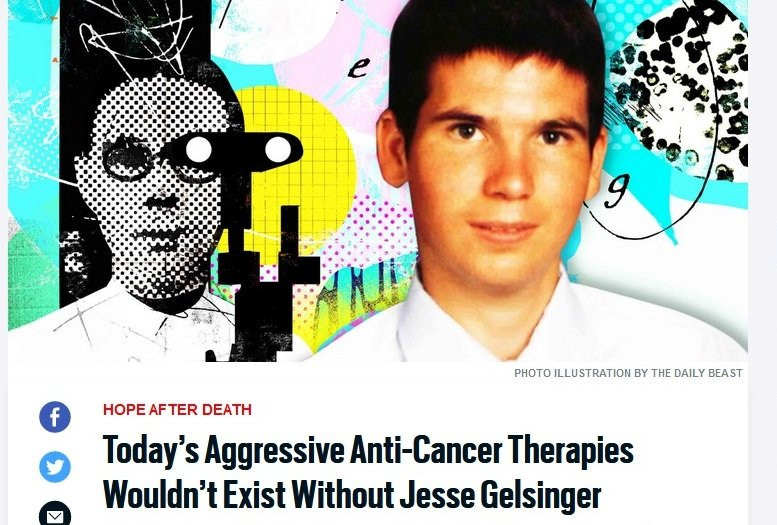 Next-Gen #Cancer Therapies; A Tribute to a Pioneer.  https://www. thedailybeast.com/todays-aggress ive-anti-cancer-therapies-wouldnt-exist-without-jesse-gelsinger &nbsp; …  #SNRTG #BigData #RareDisease #ChildhoodCancer #brain #tech #science #OpenScience #inspiration<br>http://pic.twitter.com/jcZXvugmgz