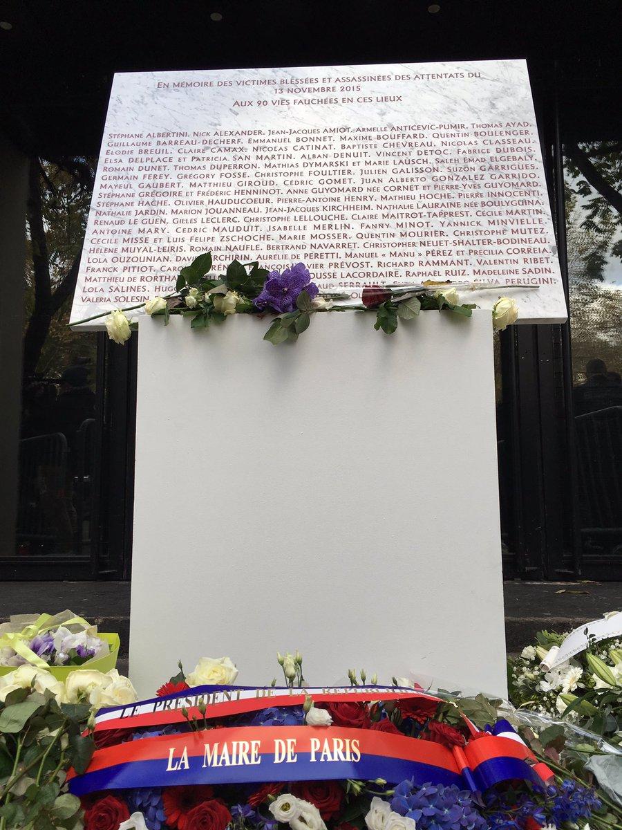 #bataclan #terrorisme #memorialday for the #victims<br>http://pic.twitter.com/AMozXIrGRi