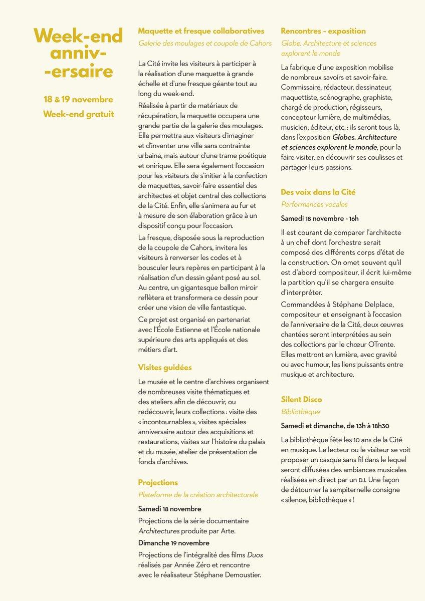 Voici le programme complet. Plus d informations par ici     http   bit.ly 2oKIkfs pic.twitter.com OUe4w2hTyD e6b24c75145c