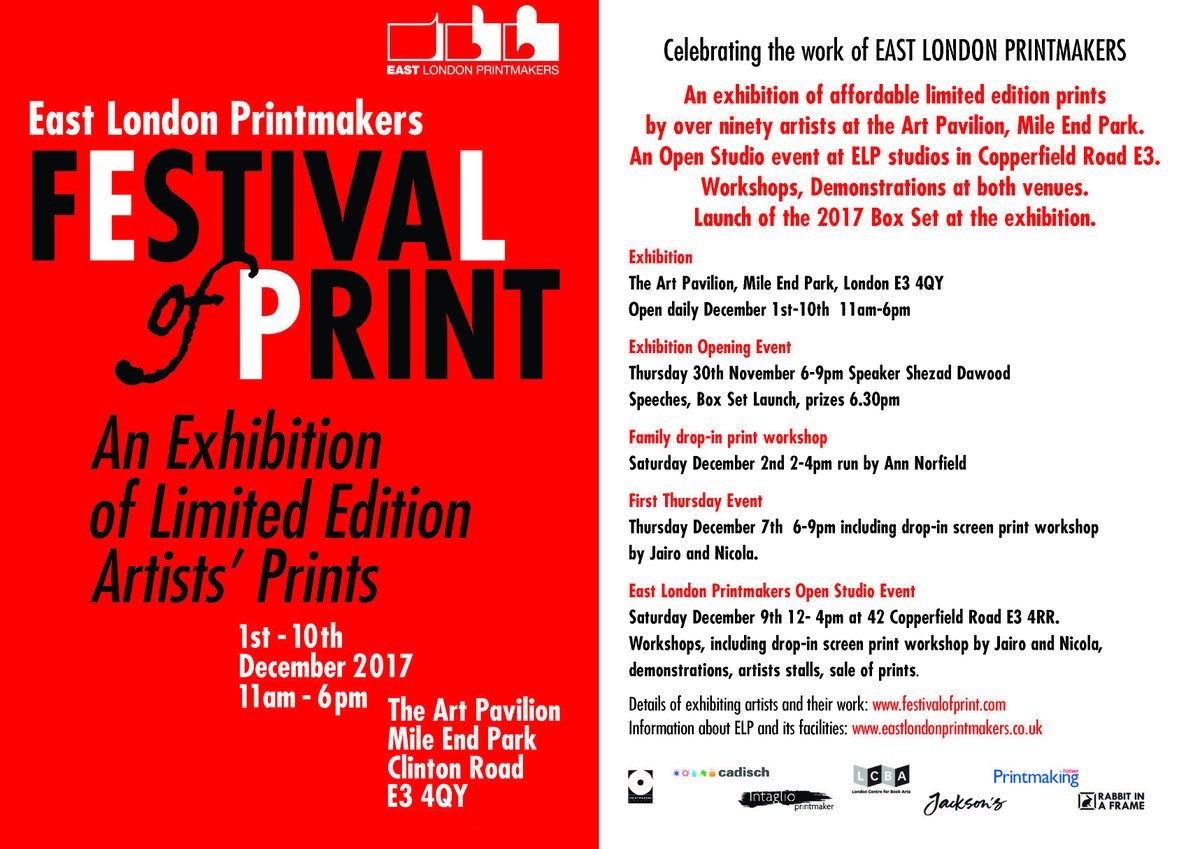 East London Printmakers on Twitter: