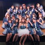 島田の卒業公演おわりました😊❣️デニムのドレス姿、すごい綺麗だった〜!島田らしくてとっても似合ってた…