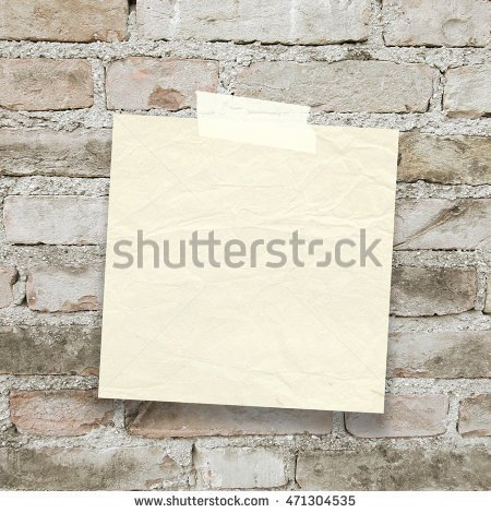 #Blank #square #old paper #sheet #frame with #adhesive #tape on #old #brick #wall #background - #Shutterstock  http:// ow.ly/BRXo30e2qhl  &nbsp;  <br>http://pic.twitter.com/sCvNrV7qRA
