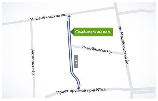 Схема движения автобуса 77 в перми