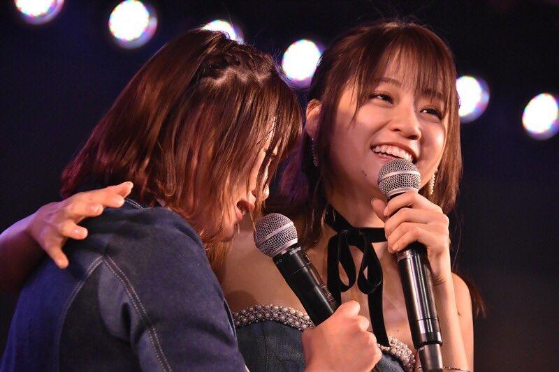 島ちゃん卒業おめでとう! 泣かない!と思ってたのに溜めてた思いを伝えたらどんどん涙出てきて😢大好きで…