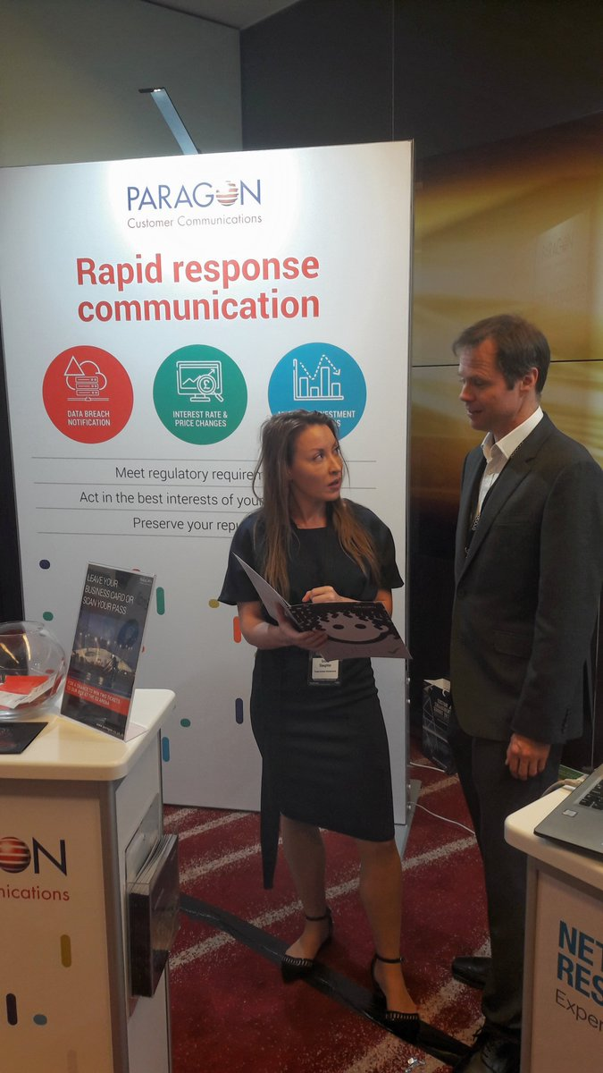 We seem to be busy at Stand 23 at the @EngageCustomer event in  #London Have you visited us yet? To know more:  http:// bit.ly/2iKowoo  &nbsp;   #CustomerService  #CustomerExperience #CustomerSatisfaction #CX #rapidresponse #scanning #EngageSummits #Marketing<br>http://pic.twitter.com/MWWDIIlS49