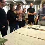 A pleasure meeting illustrator, Olivier Kugler at today's Inspiration Festival ✏️