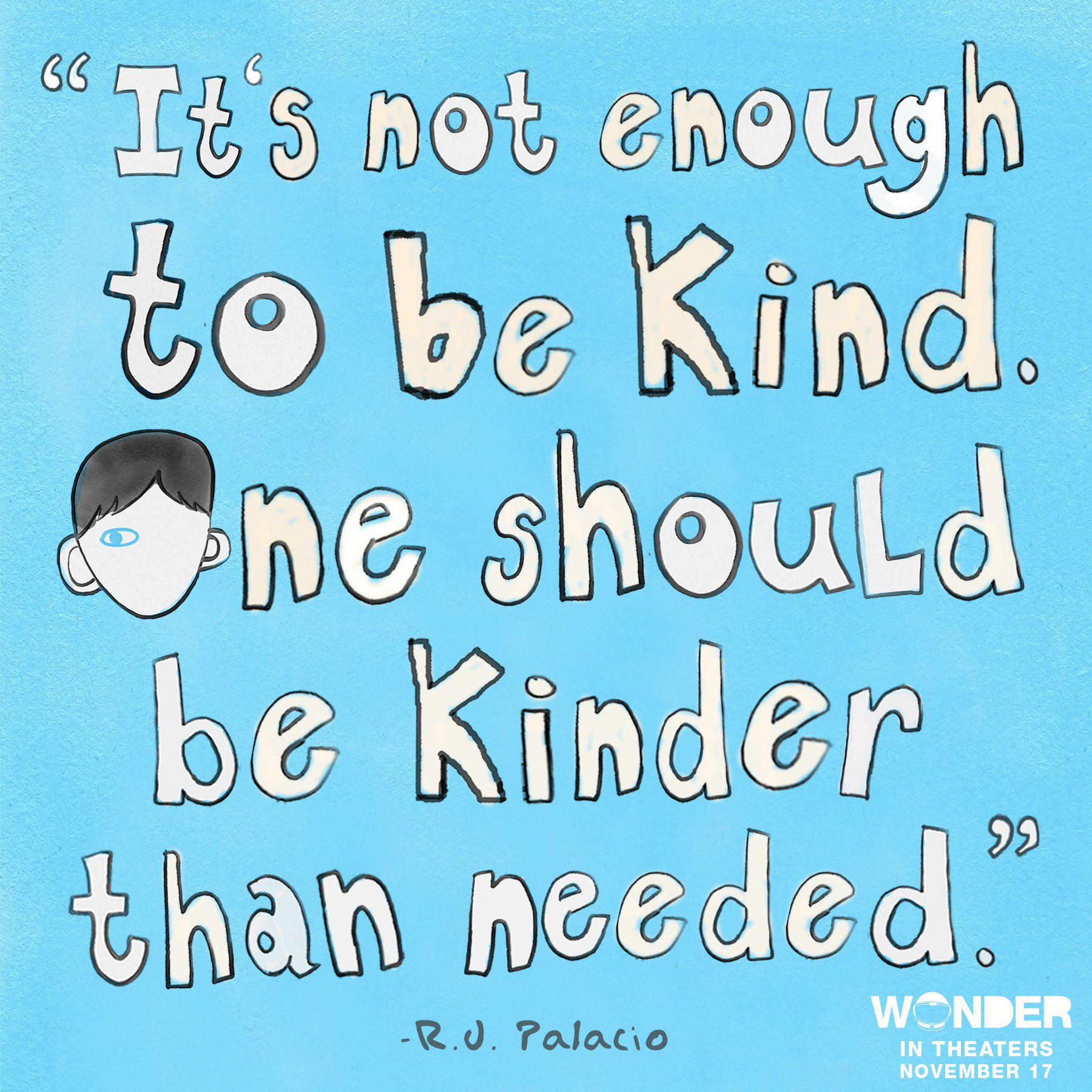 """Quotes About Wonder: Wonder The Movie On Twitter: """"Always #ChooseKind. Happy"""