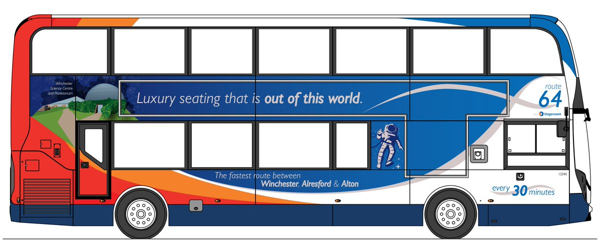 Delighted to announce our partnership with @StagecoachSouth! We will be offering a Green Discount - 25% off General Admission for those who travel to @WinSciCentre by Route64 bus or by bike!  http:// stagecoachbus.com/promos-and-off ers/south/new-buses-for-route-64 &nbsp; …  #thinkgreen #responsibletravel #lowemissions<br>http://pic.twitter.com/hT4RpW7Gwa