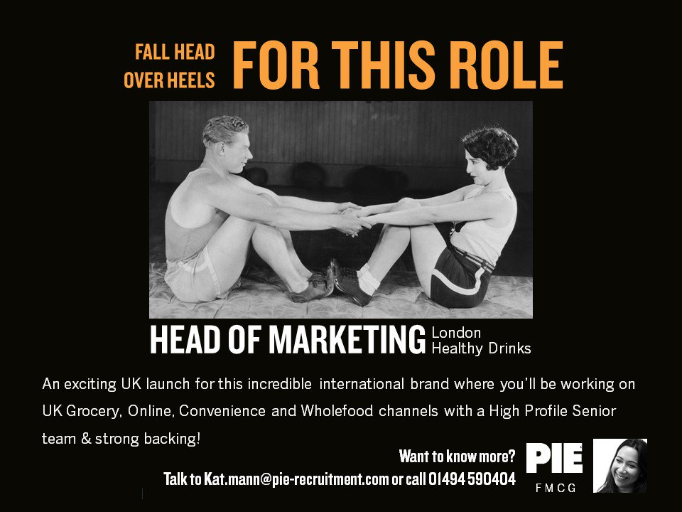 A #marketing opportunity you&#39;ll fall head over heels for  Give our #FMCG Team a call today to find out more &gt;&gt;  http:// bit.ly/2icgFjN  &nbsp;   #Healthy #Brand #healthydrinks<br>http://pic.twitter.com/uUOHKSysvD