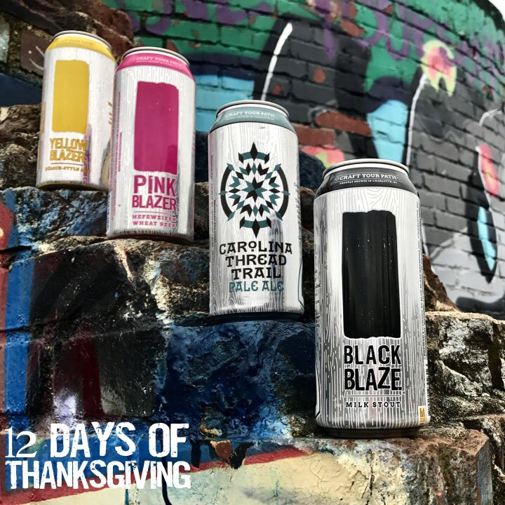 Day 3: We r thkful 4 #green co. who strive 2 #reduce, #reuse, &amp; #recycle. Cans r more recyclable than glass, &amp; #paktech tops used r made w/ recycled mat. Keep it going by recycling cans &amp; bring paktech tops 2 taproom 2 reuse. #ecofriendly #thinkgreen #packinpackout #leavenotrace<br>http://pic.twitter.com/Arj9cD4EeR