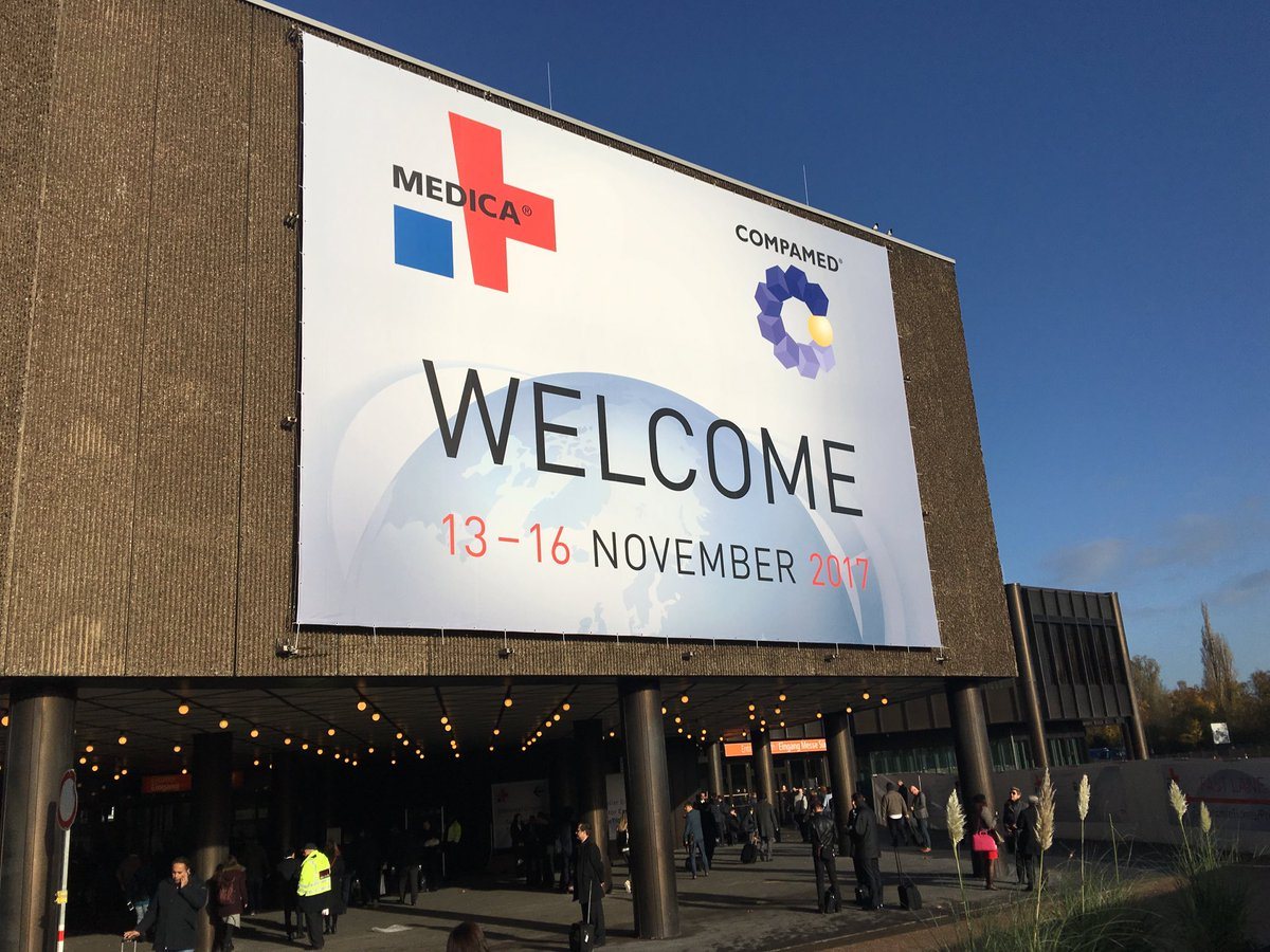 First day @MEDICATradeFair was overwhelming. Met with several #MedTech co's interested in expanding into US markets. Concerns: #regulatory #FDA #approval, #liability #insurance coverage, finding competent #distribution, setting up #subsidiary. #MEDICA2017<br>http://pic.twitter.com/rqaa4RRHTg &ndash; à Messe Düsseldorf