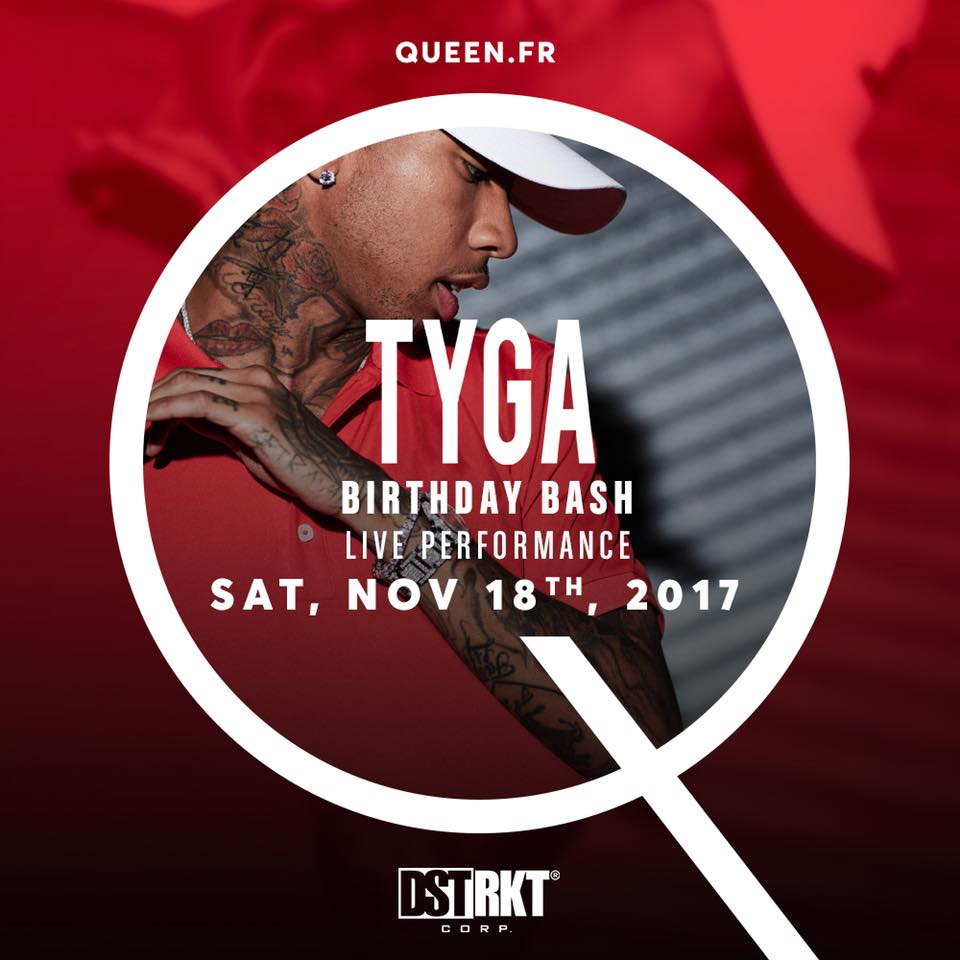 QUEEN gives you  TYGA Birthday Bash & Live Performance 🔻 Presales on line  https://t.co/O1ls2CRdMO https://t.co/MXFUQLWBNU