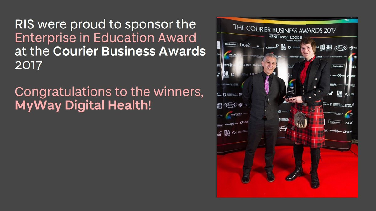 #CourierBizAwards - celebrating with the best of business in Tayside! #mostinnovative  http:// uod.ac.uk/2mbU0J1  &nbsp;  <br>http://pic.twitter.com/Boh5FGBQPl