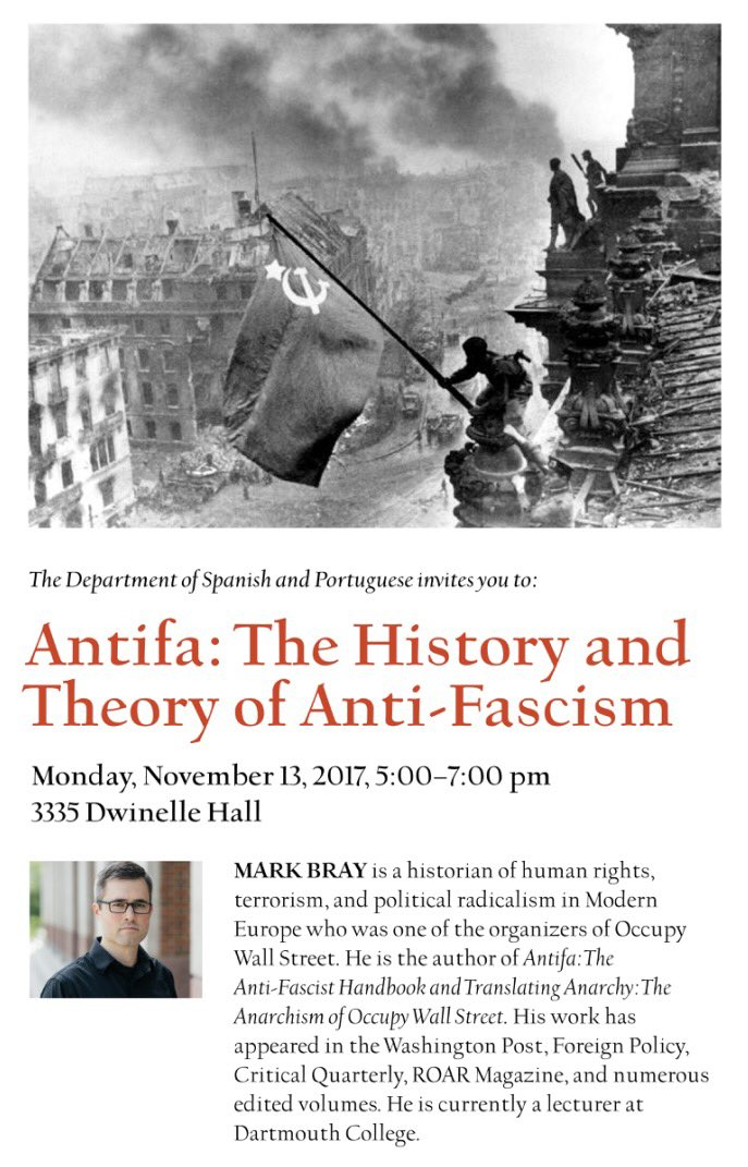 AntiFa: The History and Theory of Anti-Fascism @ 3335 Dwinelle Hall, UC Berkeley | Berkeley | California | United States