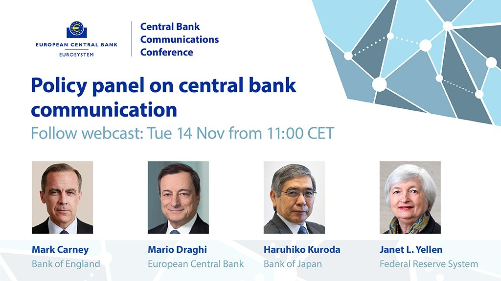 Image result for Central Bank Communication Conference, Frankfurt