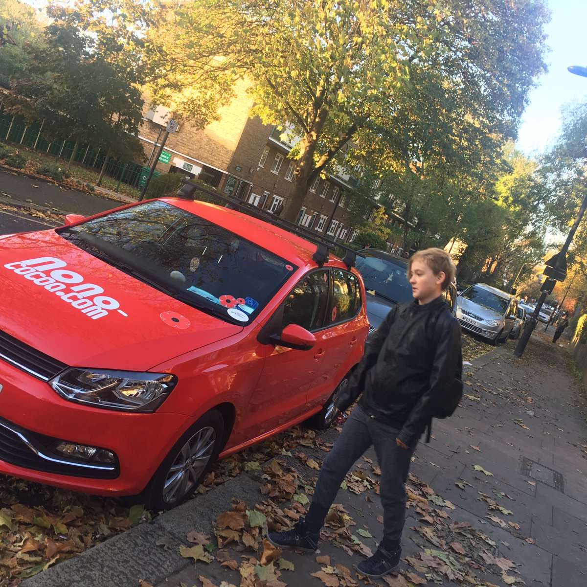 #nono car was covered with poppies the past weekend #PoppyAppeal #poppyappeal2017 #remembranceday<br>http://pic.twitter.com/r2unxESRO8