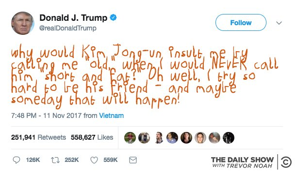 ICYMI: We made a browser extension that turns Trump's tweets into the crayon scribbles of a child. Enjoy: https://t.co/pgL64CCJ00