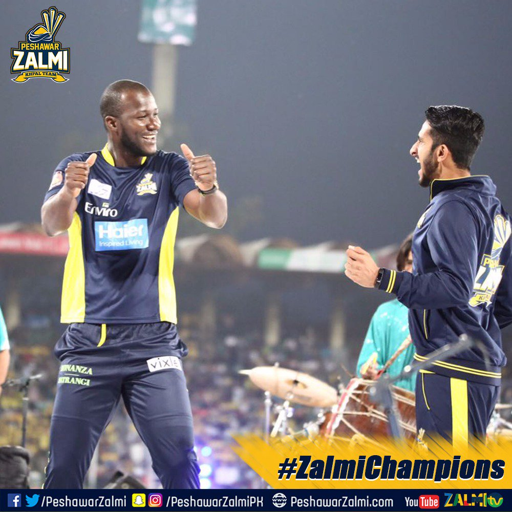 Peshawar Zalmi Is Blessed With RealHa55an