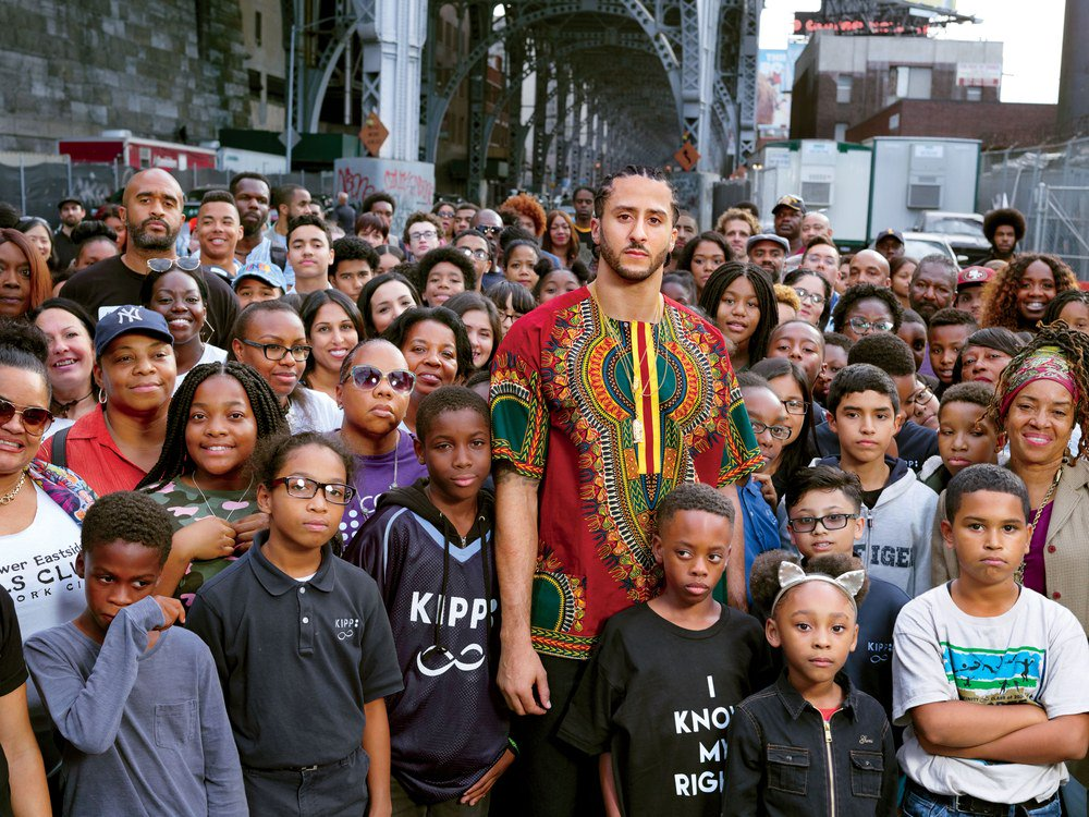 We photographed our Citizen of the Year, @Kaepernick7, in Harlem—among the men, women, and children he is fighting for https://t.co/Wsfl6EeMmz #GQMOTY