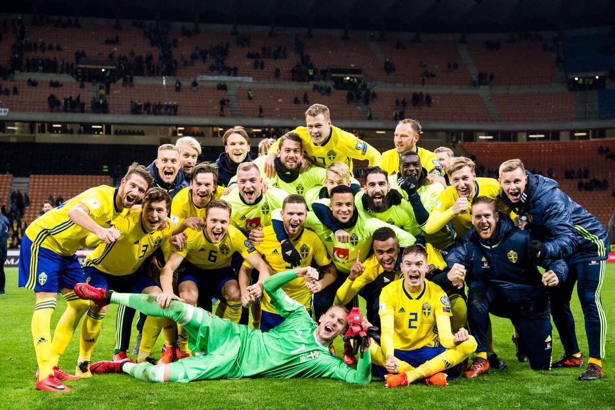 Replying to @Ibra_official: We are Zweden