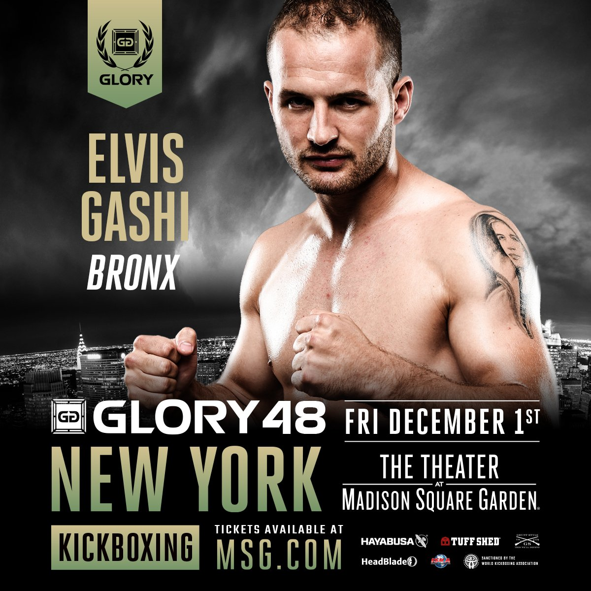 GLORY Kickboxing on Twitter: