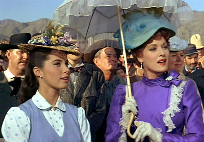"""OTD in 1963 the #JohnWayne &amp; Maureen O&#39;Hara movie McLINTOCK! premiered. Stefanie played Rebecca """"Becky"""" McLintock in the film that also starred #PatrickWayne. Stefanie remained close to Maureen O'Hara until she passed away in 2015 at the age of 95.<br>http://pic.twitter.com/THrWwKSdcG"""