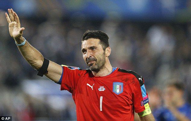 Goodbye GIanluigi. Thanks for the incredible memories! #Legend #Buffon #Italia #Italy #Azzurri #Juventus <br>http://pic.twitter.com/WAvC8MPSUW