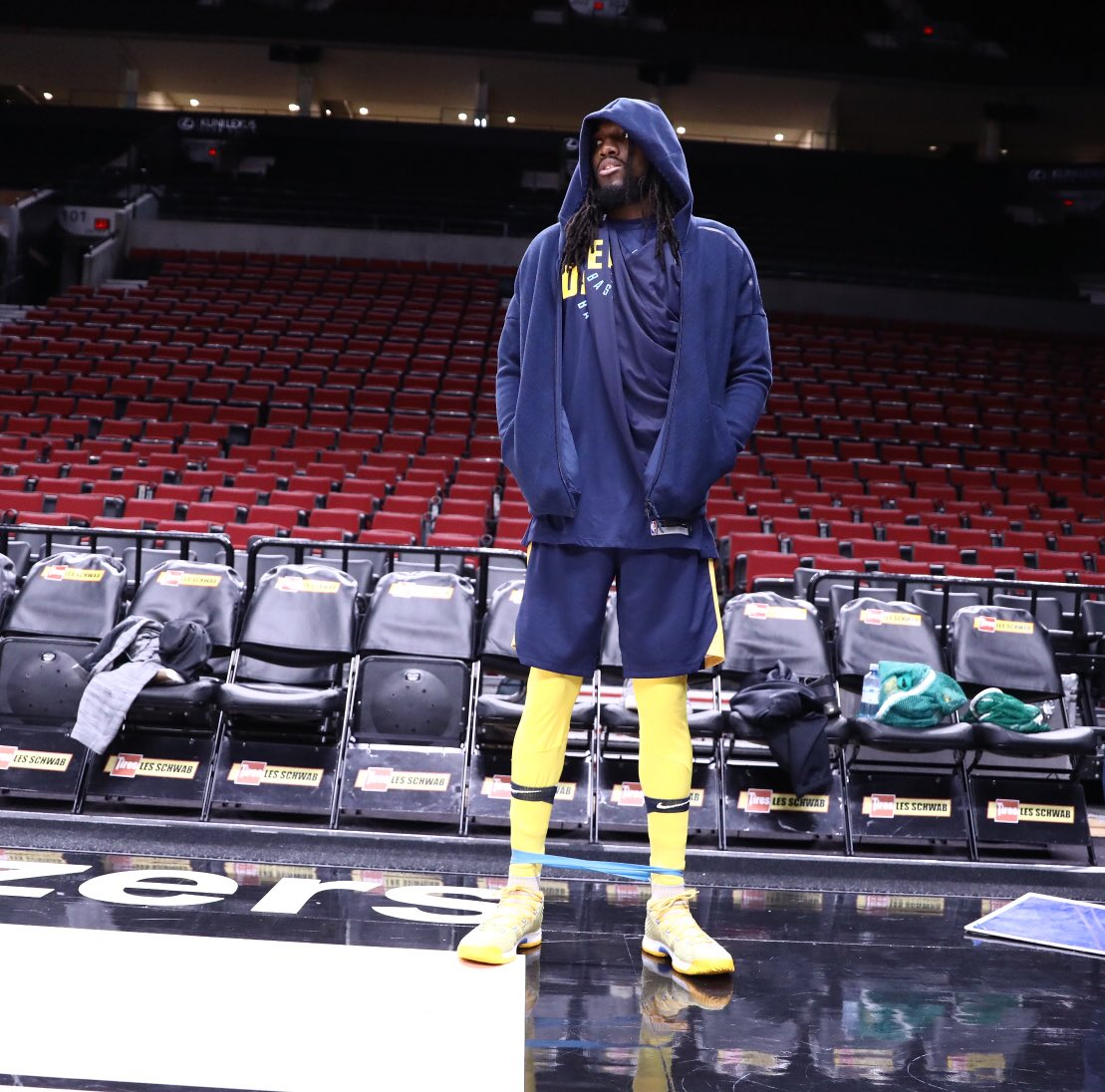 """Denver Nuggets Drumline: Denver Nuggets On Twitter: """"How To Wear The Stretching"""