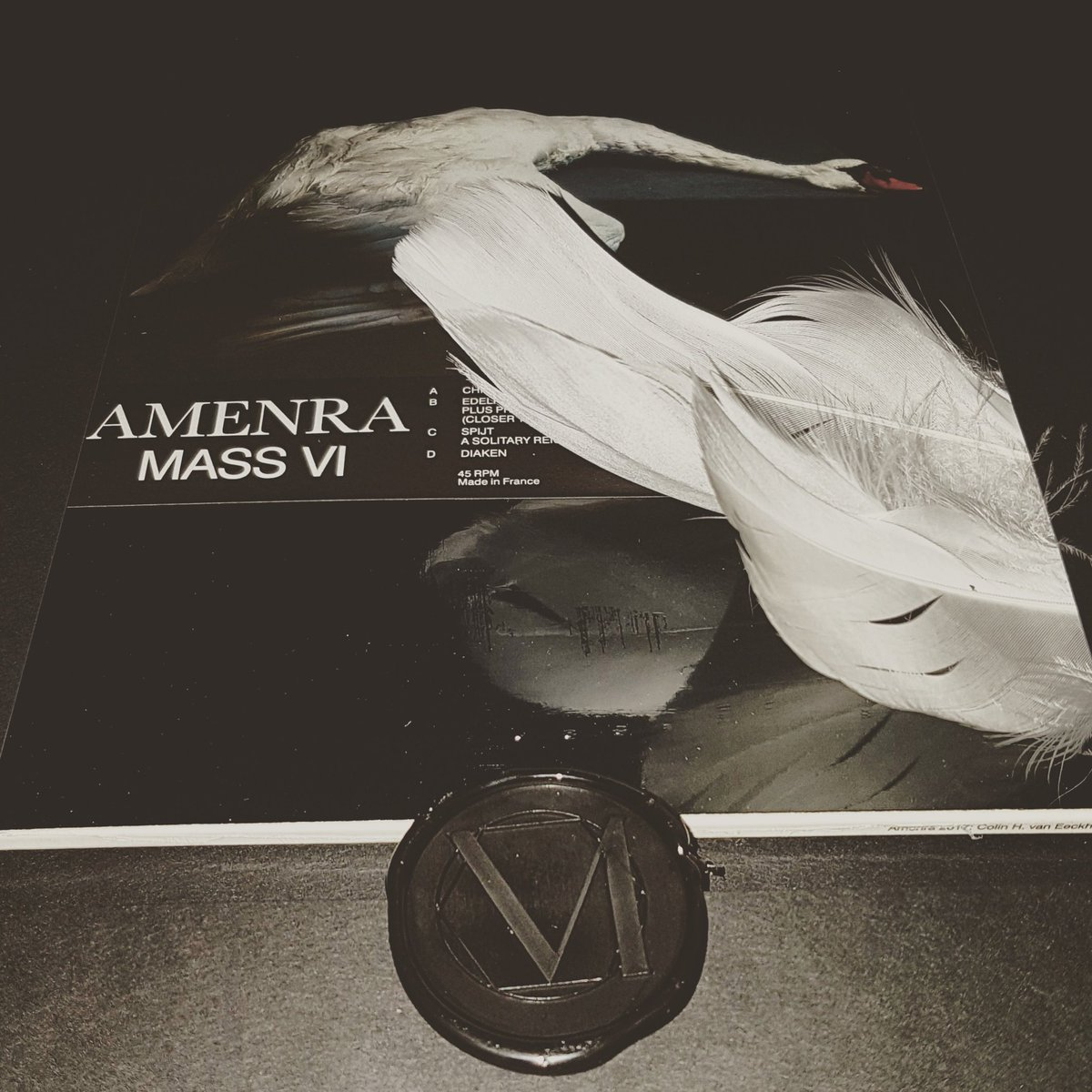 Album of the year. Packaging of the year. Special album launch show edition of Amenra - Mass VI. Number 033/300. @churchofra #Amenra #massvi #chruchofra #le7eoeil<br>http://pic.twitter.com/xynyunltBY